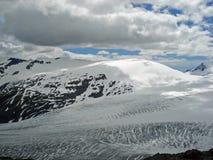 Champ de glace Kenai Alaska de Harding Photos libres de droits
