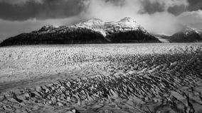 Champ de glace Patagonian du sud Photographie stock