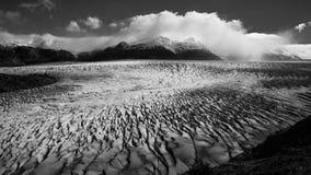 Champ de glace Patagonian du sud Photos stock