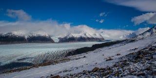 Champ de glace Patagonian du sud Photographie stock libre de droits