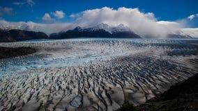 Champ de glace Patagonian du sud Image libre de droits