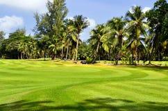 Champ de golf Images libres de droits