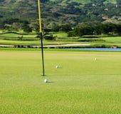 Champ de golf Photographie stock