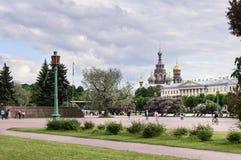 Champ de Mars à St Petersburg, Russie Photos stock