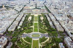 Champ de Mars Image stock