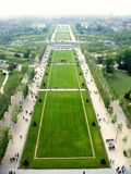Champ De Mars. Champs de Mars from Eiffel tower Royalty Free Stock Image