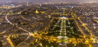 Champ de Mars em Paris fotografia de stock royalty free