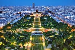 Champ de Mars, París - Francia Fotografía de archivo