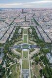 Champ de Mars - Parijs Royalty-vrije Stock Fotografie