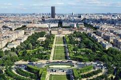 Champ de Mars, Parijs - Frankrijk Royalty-vrije Stock Foto