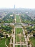 Champ de Mars Paris Photo stock