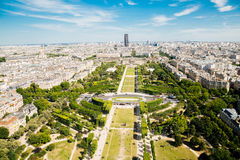 Champ de Mars in Paris Stock Images