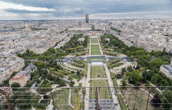 Champ de Mars Paris Stock Photos