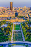 Champ de mars, Paris, France Stock Photo