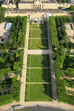 Champ de Mars in Paris, France. Stock Image