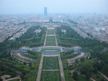 Champ de Mars, Paris, 2005 Royalty Free Stock Images