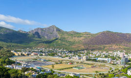 Champ de Mars in Port Louis the capital of Mauritius.  Royalty Free Stock Photo