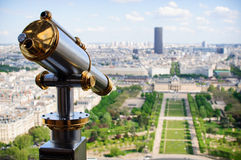 Champ de mars from a distance Royalty Free Stock Images