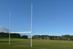 Champ de rugby Images stock