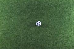 Champ et boule d'herbe Photo libre de droits