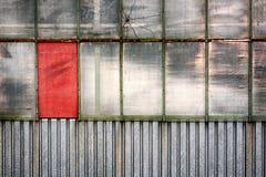 Champ rouge Photographie stock libre de droits