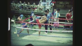 Champ thaïlandais de jambe banque de vidéos