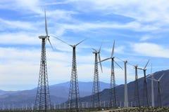 Champ vert d'énergie Images stock