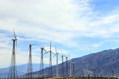 Champ vert d'énergie Images libres de droits