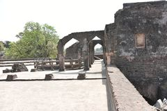 Champa Baoli & Hammam, Mandu, Madhya Pradesh Imagem de Stock