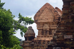 Champa temple Royalty Free Stock Photography