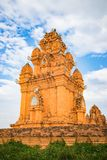 Champa temple, Religion Hidu Tower in Asia.  Royalty Free Stock Photography