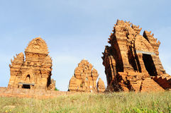 Champa temples in Phan Rang, Vietnam.  Stock Image