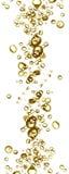 Champage bubblar Arkivbild