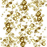 Champage bubbles Royalty Free Stock Images