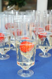 Champage glasses Stock Images