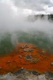 champagen pools vulkaniskt royaltyfri foto