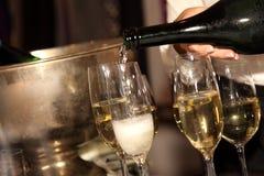 Champagne Stockbilder
