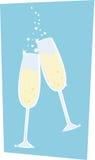 Champagne lizenzfreie abbildung