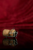 Champagne. Greater fuse of a champagne Royalty Free Stock Photos