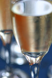 Champagne. In several tall glasses Royalty Free Stock Images
