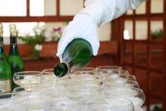 Champagne_2 Fotografia Stock Libera da Diritti