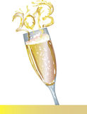 Champagne 2013. Color  file Royalty Free Stock Photography