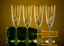 Champagne Lizenzfreies Stockfoto