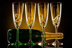 Champagne 2014 Imagens de Stock Royalty Free