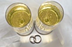 Champagne1 Photographie stock libre de droits