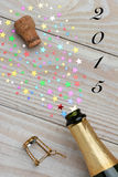 Champagne 2015 Fotografia Stock