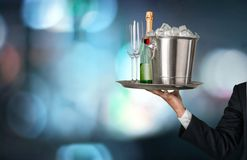 Champagne Imagens de Stock