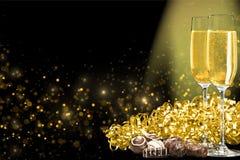 Champagne Fotografering för Bildbyråer