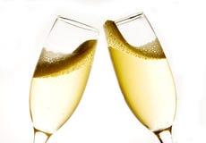 champagne 库存照片
