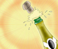 champagne stock illustrationer